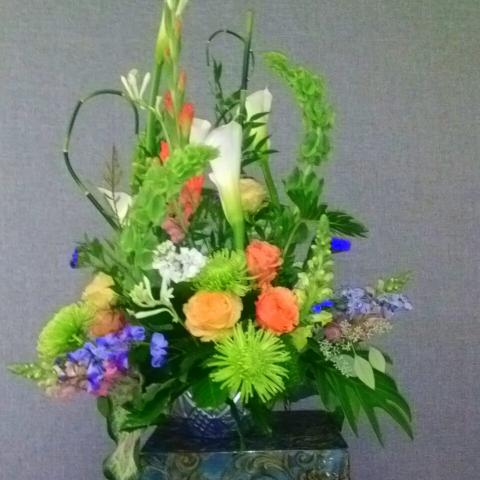 Sample Flowers for Retirement Party